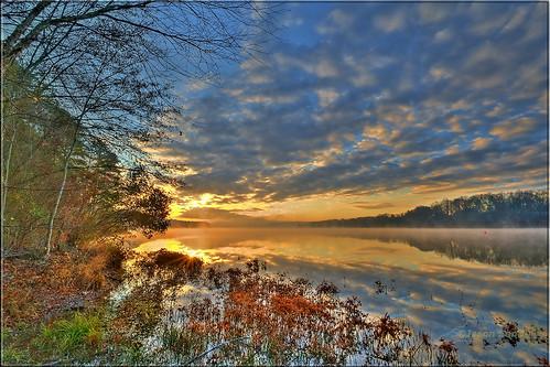 winter sunrise northcarolina raleigh 2011 lakewheeler jasonsents