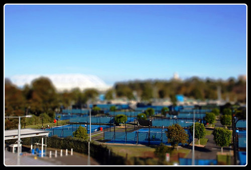 Melbourne Tennis Tiltshift