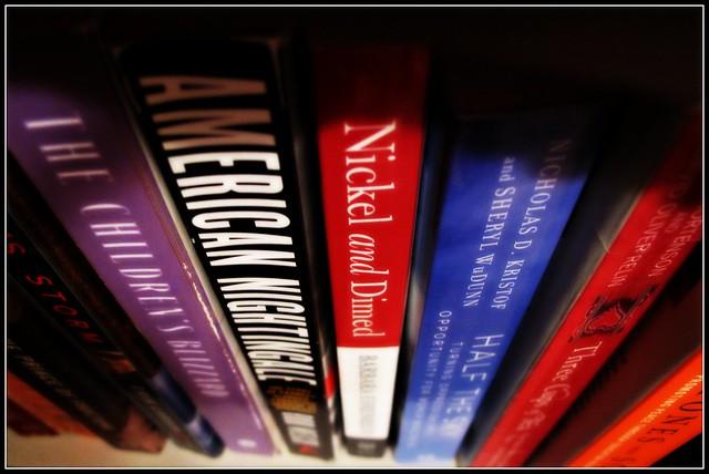 books on the shelf - HMM!