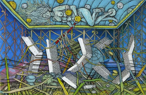 "Tadashi Moriyama ""Artemis on the Ceiling"""