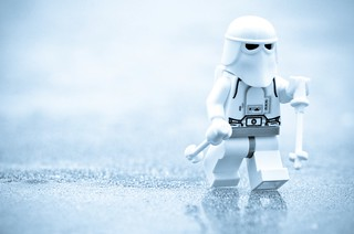 Just a snowtrooper on the ice | by Kalexanderson