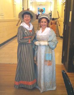 Sheila & Jane: Jane Austen Evening 2012