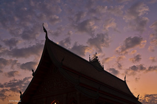Luang Prabang temple silhouette | by Phil Marion (173 million views - THANKS)