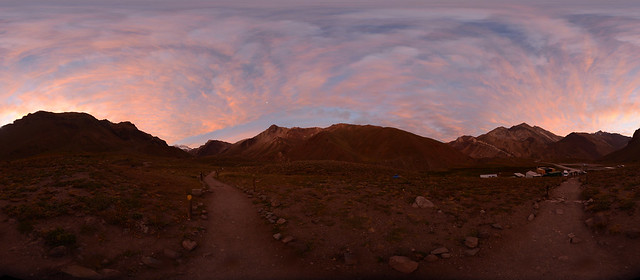 Aconcagua stiched pano