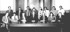 Town Council 1987- 1989. Mayor Harnett in chair.