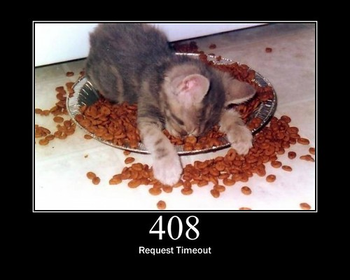 408 - Request Timeout | by GirlieMac