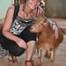 S posvátnou kozou, foto: Kateřina Mildnerová