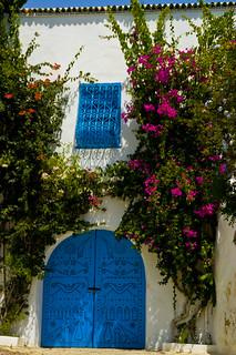 Old House in Sidi Bousaid, Tunisia