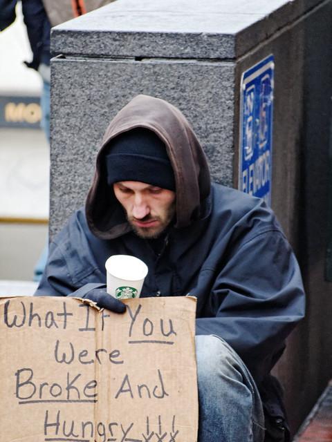 Man on Market Street, San Francisco