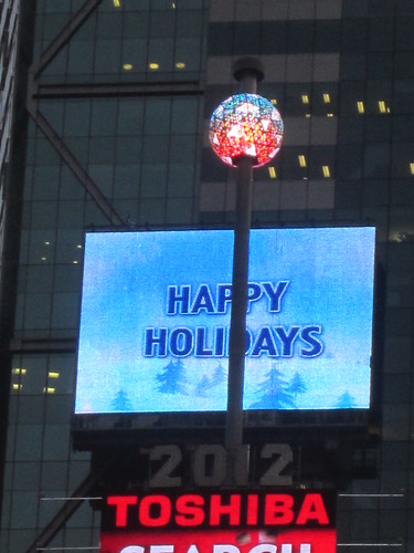 Times Square NYC New Years Eve Ball Drop 2011 - 2012 | by RYANISLAND