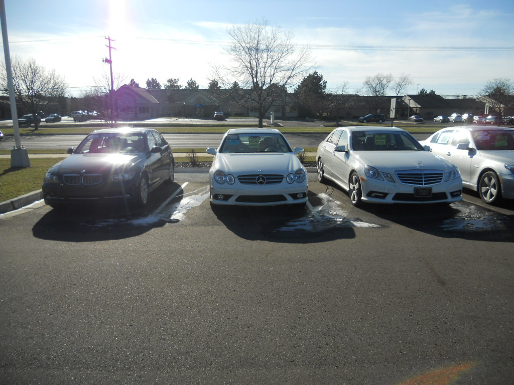 Okemos Auto Collection >> Certified Pre-Owned line-up 007   pre-owned Mercedes cars ...