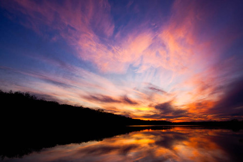 winter sunset dusk ks kansas shawneemissionpark shawneemissionlake