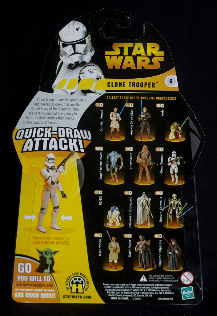 Star Wars Revenge Of The Sith 6 Clone Trooper Quick D Flickr