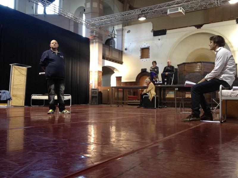 #Hamlet in repetitie