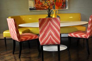 Custom Built Banquette | The designer had us fabricate ...