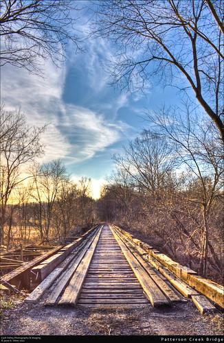 bridge sunset creek train iron historic westvirginia patterson hdr fortashby mineralcounty canont1i