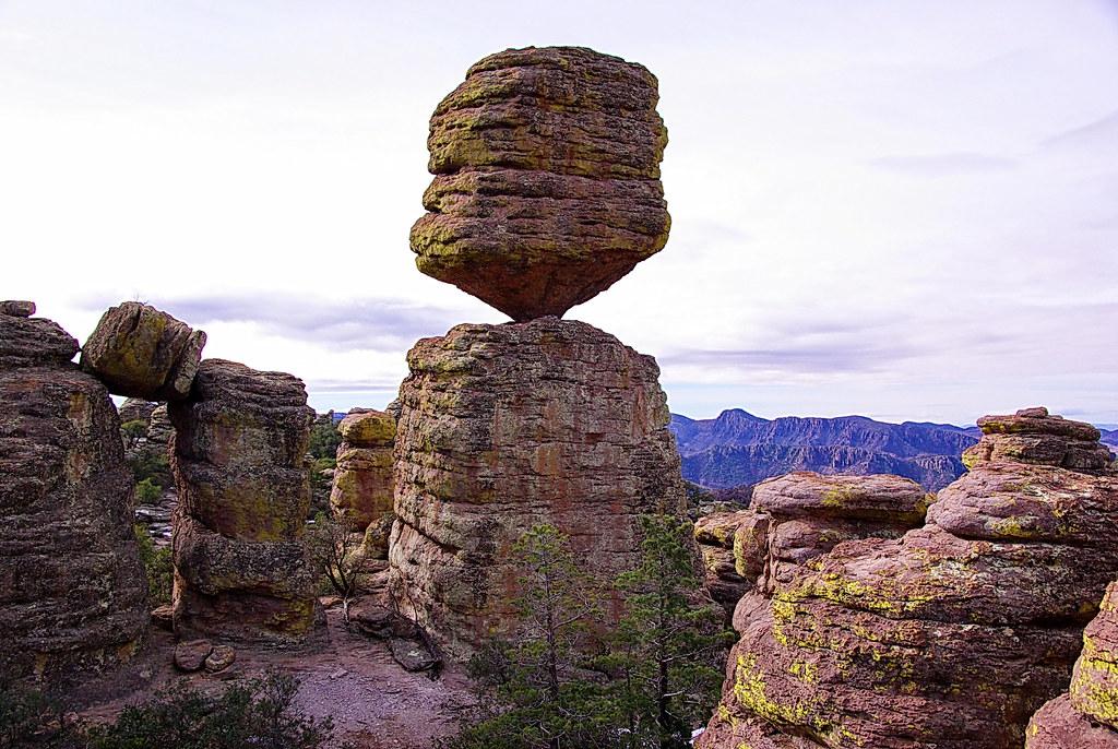 Big Balanced Rock formation - Chiricahua National Monument… | Flickr