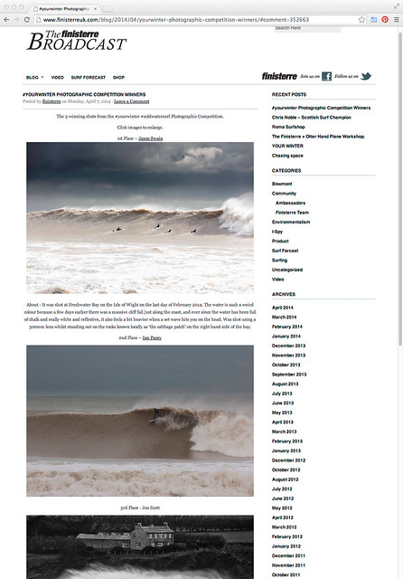 #YOURWINTER PHOTOGRAPHIC COMPETITION WINNERS - finisterre blog