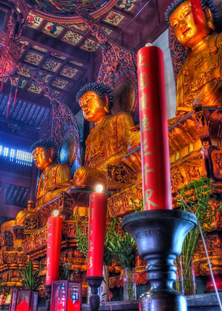 Buddhas- Shanghai, China