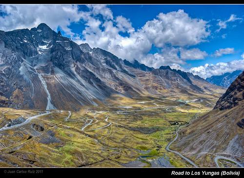 Road to Los Yungas (Bolivia)