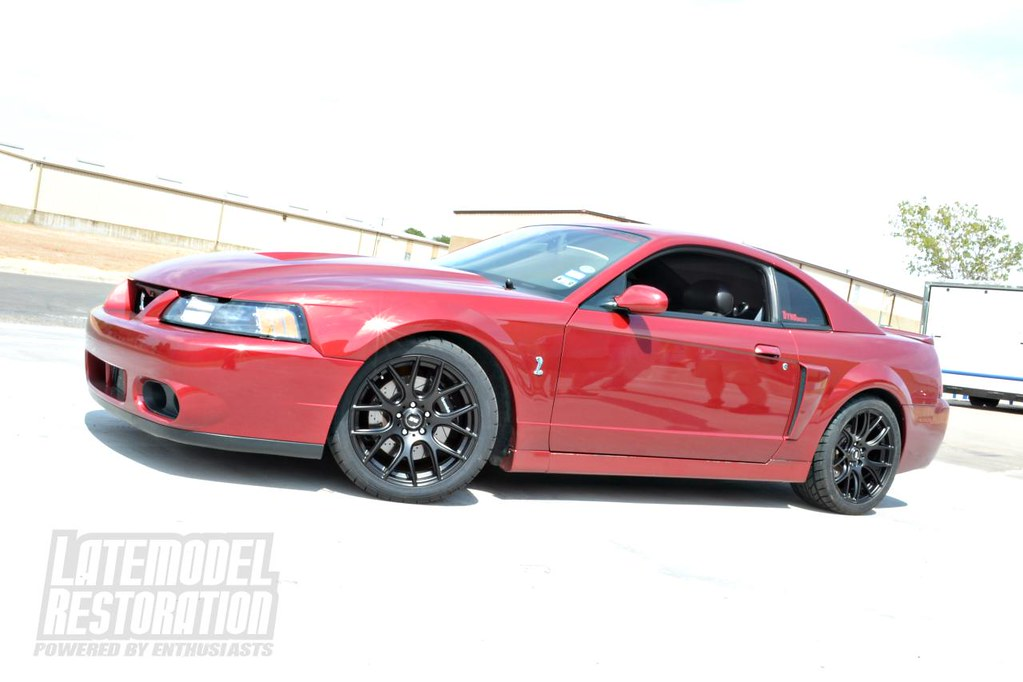 Cobra 2004 Mustang Sve Red Fire With Drift… 18x9 Flickr Black Ford