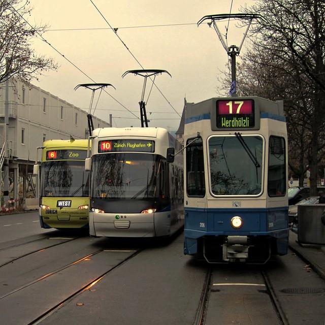 Tram Zürich 2011 - Die neue Linie 17