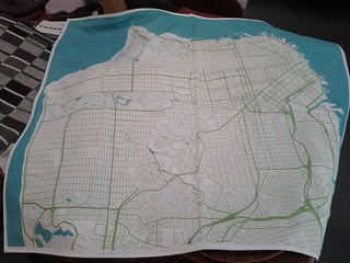 Haptic Lab San Francisco map blanket | by Eric Fischer