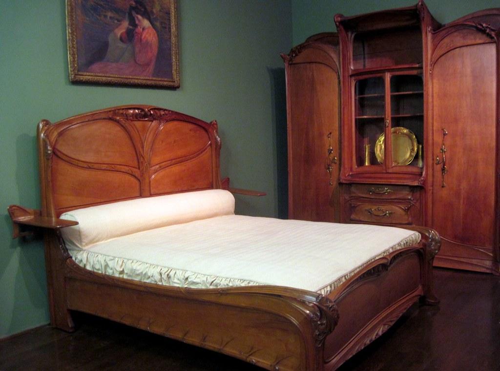 Peachy Art Nouveau Bedroom Furniture By Hector Guimard Explore Download Free Architecture Designs Osuribritishbridgeorg
