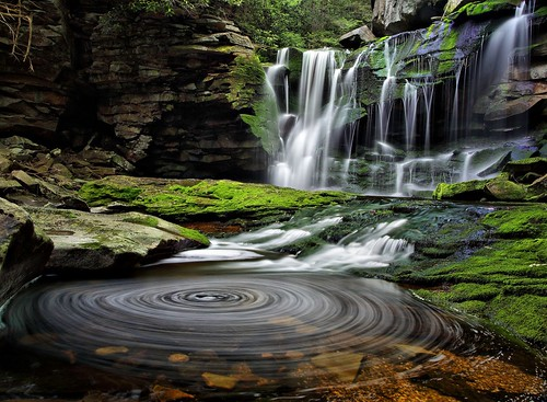 West Virginia waterfalls in a National Geographic Contest! | by ForestWander.com