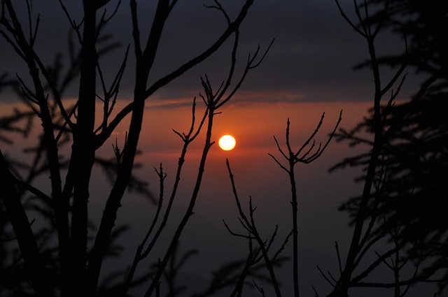 Sunset from Sillery Gaon