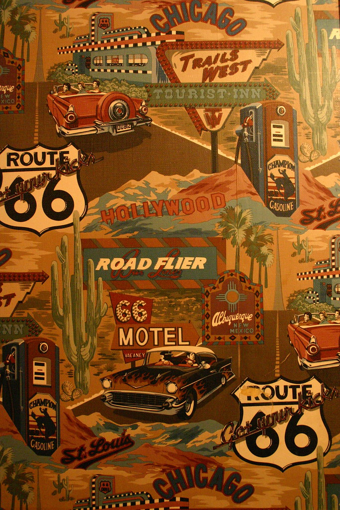 Route 66 Wallpaper Launching Pad Diner Wilmington