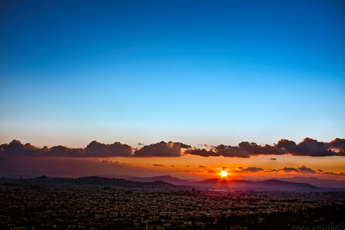 city blue sunset sky orange mountains clouds canon landscape published cityscape athens greece canonefs1022mmf3545usm canoneos40d