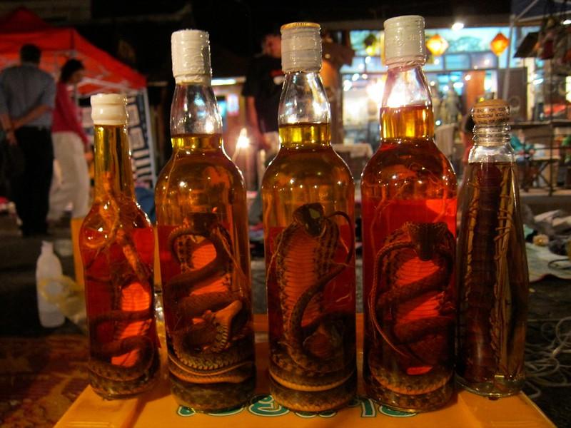 Snake Liquor, Luang Prabang, Laos