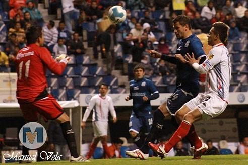 IMG_0091 Lobos BUAP líder en Liga de Ascenso derrota 3-1 a Estudiantes de Altamira J2 TC2012 partido disputado en el Estadio Cuauhtémoc por Mv Fotografía Profesional / www.pueblaexpres.com