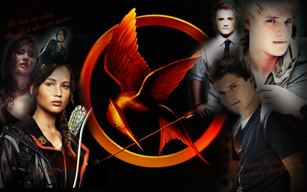 The Hunger Games Wallpaper A Wallpaper I Made Inspired By