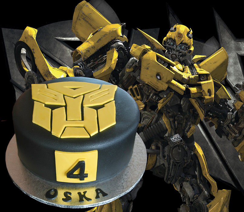Bumblebee Transformer Cake I Have Full Instructions On