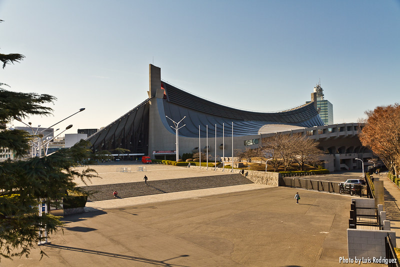 Edificio del Gimnasio Nacional de Yoyogi de Tange Kenzo
