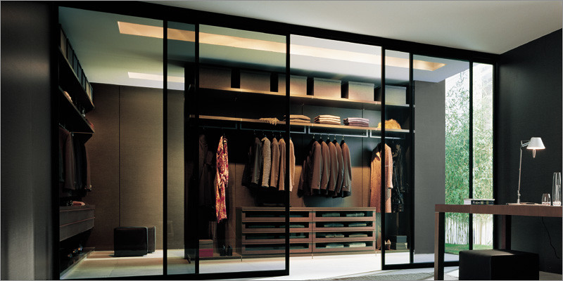 Poliform Walk In Closet Ubik Close Sliding Doors