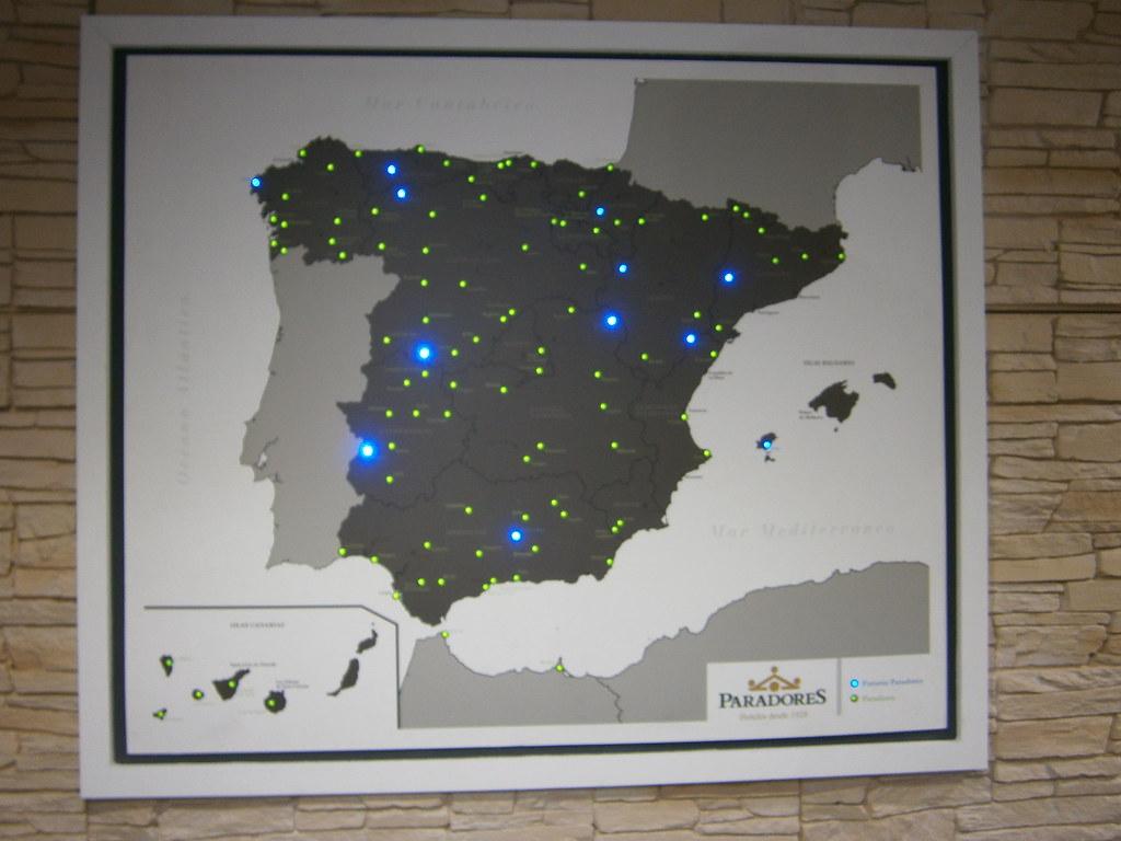 Mapa De Los Paradores Turismo Y Visitas Virtuales Flickr