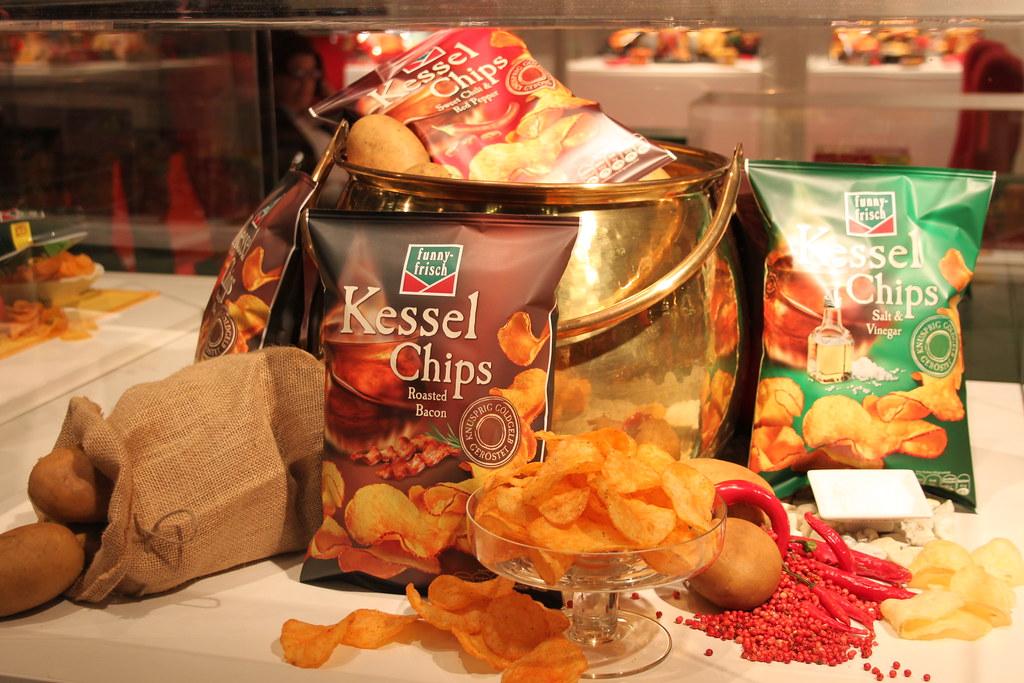 Chips Geschmacksrichtungen