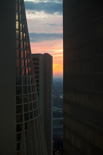 atlanta building sunrise landscape geometry odc geometricshapes nikond5000 dougmall odcgeometry