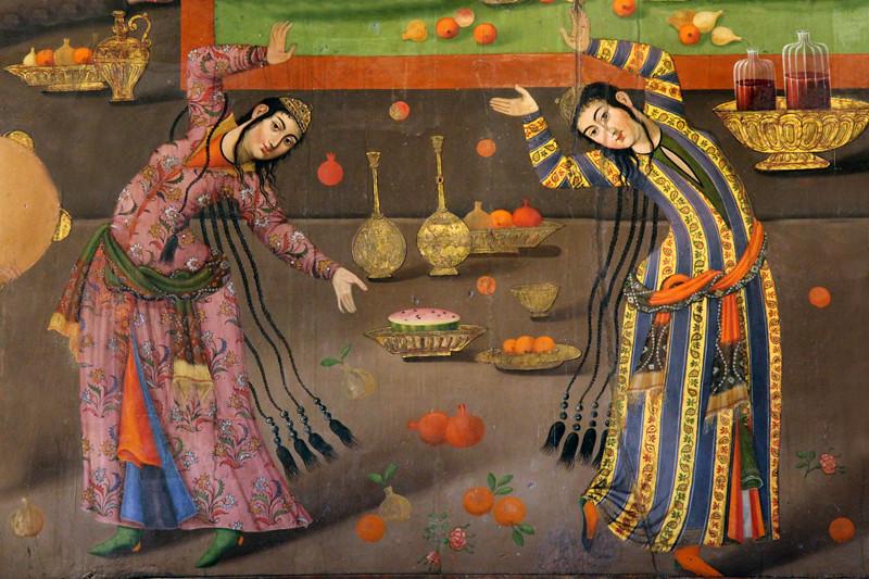 Safavid Art, Isfahan, Iran | Dancers  A wall painting from C… | Flickr