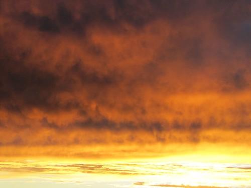 sunset sky colorado dusk cloluds montrosecolorado