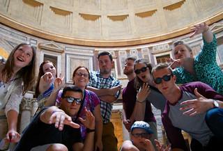 Mon, 10/05/2015 - 12:16 - GCC Study Abroad students in Rome