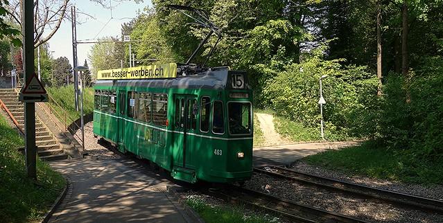Tram Basel Switzerland 2014