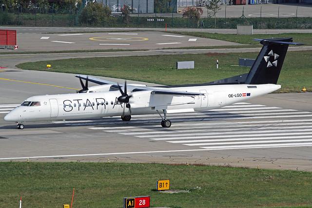 Austrian Airlines DeHavilland DHC-8Q-402 OE-LGO