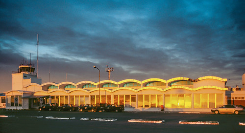 sunset patagonia film southamerica argentina evening airport slide riogallegos argentinien südamerika flughäfen