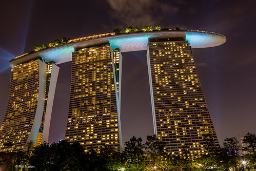 Marina Bay Sands Hotel - Singapore | by Phil Marion (176 million views - THANKS)