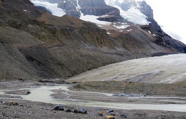 The Receding Athabasca Glacier