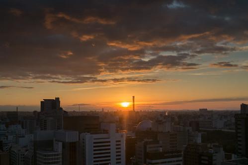 sunrise nagoya japan urban nagoyashi aichiken jp